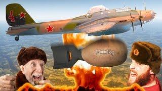 getlinkyoutube.com-5000KG BOMB - PE-8 Russian Bomber! War Thunder 1.53 Gameplay