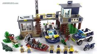 getlinkyoutube.com-LEGO City Swamp Police Station review! set 60069