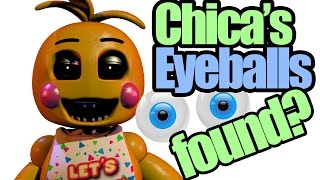 getlinkyoutube.com-Chica's eyeballs found? it's not in her cupcake? (five nights at freddy's theory)