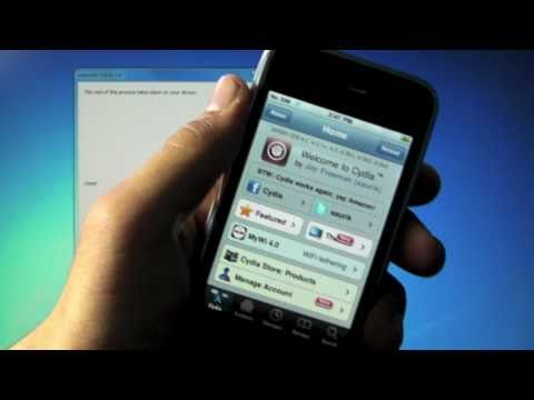How To Jailbreak 4.3.3 iPhone 4/3Gs, iPod Touch 4G/3G & iPad - Redsn0w