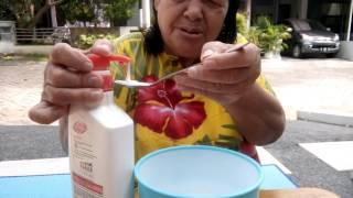 getlinkyoutube.com-Cara membuat milky down slime ala nenek josephine