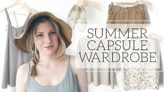 getlinkyoutube.com-Summer 2015 Capsule Wardrobe | Project 333