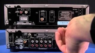 getlinkyoutube.com-ONKYO CS-1045 Anschluss (Mini-HiFi-System)
