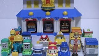getlinkyoutube.com-로보카폴리 구조본부 장난감 Robocar Poli Rescue Center Toys