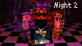 getlinkyoutube.com-MINE Nights at Freddy's | Night 2 | FNAF Minecraft Roleplay