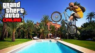 getlinkyoutube.com-GTA 5 - Vidéo détente et Tricks en BMX