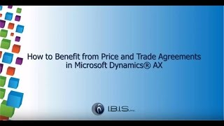 getlinkyoutube.com-How to Benefit from Price and Trade Agreements in Dynamics AX