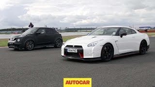 getlinkyoutube.com-Nissan GT-R Nismo vs Nissan Juke-R 2.0 - Drag race