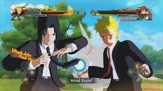 getlinkyoutube.com-Naruto Shippuden Ultimate Ninja Storm Revolution - Suit & Tie DLC Costumes