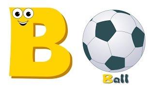 getlinkyoutube.com-Phonics Letter B | ABC Song | Alphabet B