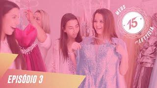 getlinkyoutube.com-Escolhendo o Vestido com Lados Opostos - Meus 15 Por Letticia
