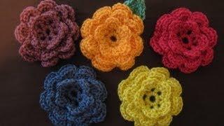 getlinkyoutube.com-How to crochet a flower, part 1