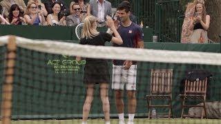 getlinkyoutube.com-Djokovic Makes a Great Ball Girl!