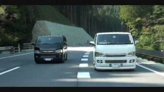 getlinkyoutube.com-ハイエース HIACE (twins PV)Part.2