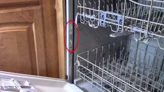 getlinkyoutube.com-Dishwasher repair - Leaking from bottom of door - troubleshooting Whirlpool
