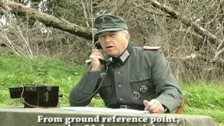 getlinkyoutube.com-German 10,5cm battery firing exercise