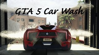 getlinkyoutube.com-GTA 5 Real Car Mods, Car Wash