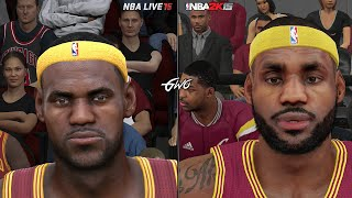 getlinkyoutube.com-NBA 2K15 vs NBA LIVE 15 Graphics/Face Comparisons