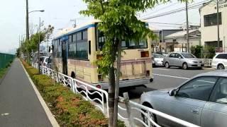 getlinkyoutube.com-バス廃車体かと思ったら・・・劇用車でした~江東区新木場にて