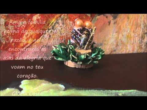 Presépios em miniatura de Glória Costa
