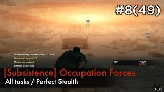 【MGSV:TPP】Episode 8(49) : [Subsistence] Occupation Forces (S Rank/All Tasks/Perfect Stealth)
