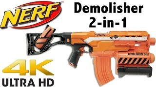 getlinkyoutube.com-NERF N-Strike Elite Demolisher 2-in-1 Unboxing and Review