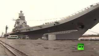 "getlinkyoutube.com-روسيا تسلم الهند حاملة الطائرات ""فيكراماديتيا"""