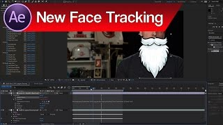 Face Track in Adobe After Effects – Facial Motion Capture After Effects Tutorial