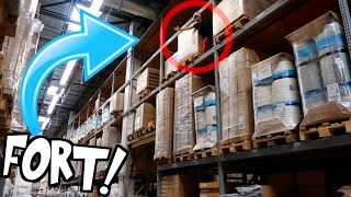 HIGHEST RAFTERS FORT EVER!