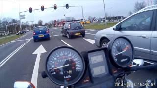getlinkyoutube.com-Onboard Honda vf1100 v65 magna