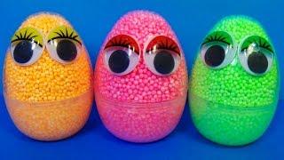 getlinkyoutube.com-Interesting surprise eggs! Disney PLANES Nickelodeon SpongeBob Thomas & friends For Kids mymillionTV