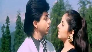 getlinkyoutube.com-ShahRukh Khan & Divya Bharti - Aisi Deewangi (HD 720p) - Deewana (1992)