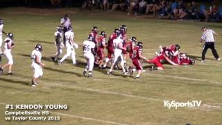 getlinkyoutube.com-Kendon Young - 2016 HB Campbellsville HS Torches Rival Taylor County