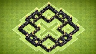 getlinkyoutube.com-Clash of Clans - Nice Town Hall 5 Farming Base