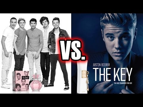 One Direction vs Justin Bieber - Who's Selling More Perfume?