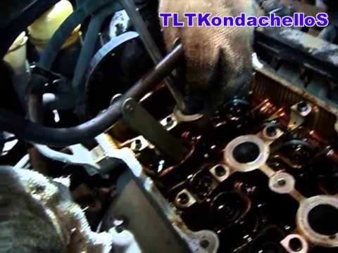 Mazda замена сальников без снятия башки