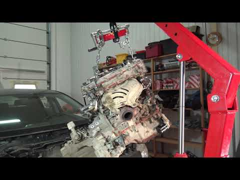 P1/2  How to install Toyota Corolla engine Back. Years 2008 to 2018. Part 1 of 2