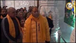 Shri Maharaj Ji's Prem Mandir Visit