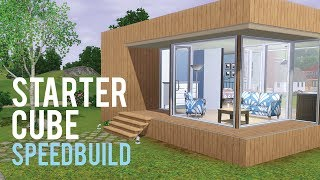 The Sims 3 Speed Build—Starter Home base game only
