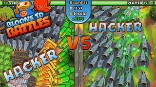 getlinkyoutube.com-HACKER VS. HACKER!!! :: BTD Battles :: TOWERS EVERYWHERE! [HD]