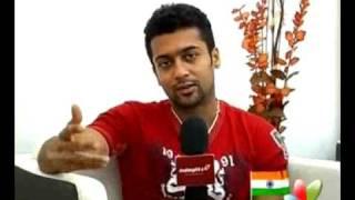 getlinkyoutube.com-Surya explains about six packs for his fans