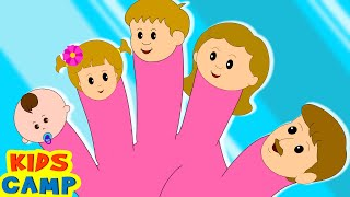 getlinkyoutube.com-The Finger Family Song | Many More Nursery Rhymes for Children By KidsCamp