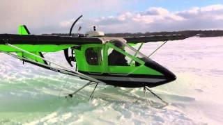 getlinkyoutube.com-Hawks departing from Ice Shanty - Great Sacandaga Lake