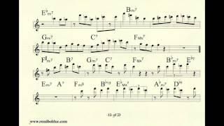 getlinkyoutube.com-Remi Bolduc transcription : Jerry Bergonzi solo on Just Friends
