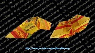 getlinkyoutube.com-【CYS教程】敬神折纸~元宝の一(Origami~Gold Ingot)