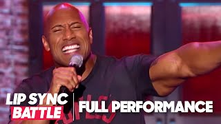 "getlinkyoutube.com-Dwayne Johnson's ""Shake It Off"" vs Jimmy Fallon's ""Jump In The Line"" 