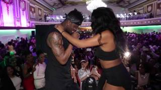 getlinkyoutube.com-Diamond Platnumz - Nasema Nawe Live In London With The Unique Silver Dancers 2015