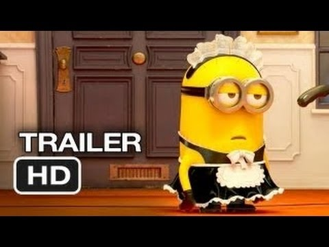 Minions movie 3D - Trailer [HD] 2014