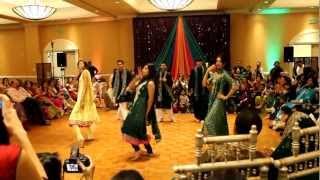 getlinkyoutube.com-Zeshan & Amber's Mendhi--Guy/Girl Dance