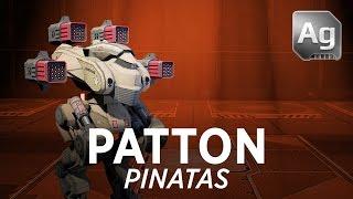 getlinkyoutube.com-Walking War Robots Patton Gameplay: Pinatas